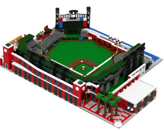 AT&T Park - San Francisco Giants Baseball Stadium, Brick Model