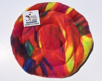 Rainbow Frisbee, Small Soft Toys, Puppy Toy, Gifts for Dogs, Pet Pride, Tug a war Toy, Fleece Flying Disc, Indoor Dog Toys, Rainbow Gifts