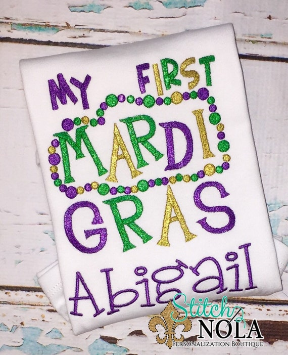 First 1st Mardi Gras
