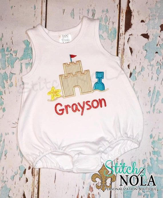 Sandcastle T-Shirt or Bodysuit
