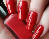 Pop My Cherry 5ml (Cremes Collection) Creme Cruetly Free Handmade Nail Polish
