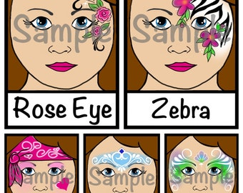rose eye, zebra, princess, mermaid, pretty pirate