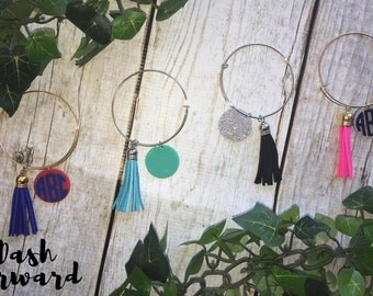 SALE! Personalized Tassel Bracelets, customized jewelry, mongoram, monogrammed bracelet