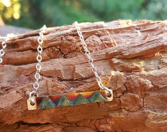 Boho tribal necklace