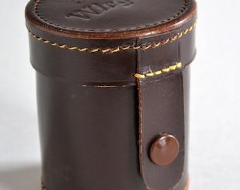 Wirgin Vintage Leather Rangefinder Lens Case