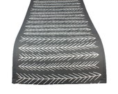 45 colors Rustic Table Runner, Rustic Dining Room, Scandinavian Table Runner Dining Room, Graphic Table Runner, Graphic Kitchen