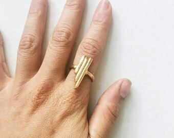 Bellatrix Brass Ring