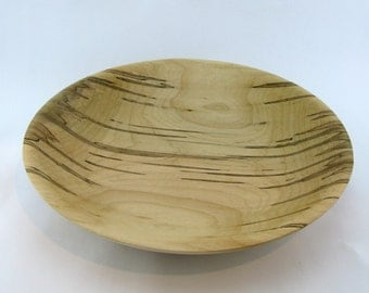Fruit plate or service made from Ambrosia Maple apprx. 13 in. x 2 1/2 in. item number:317