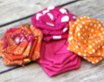 Any Color Any Roses Headband or Clip // Request Colors During Checkout // Baby, Toddler, or Girl