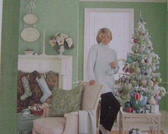 Martha Stewart's Decorating for The Holidays Instruction Book - 1998