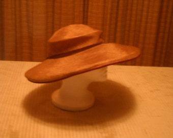 1950's Large Brim Hat