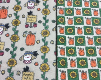 Cute Harvest Coordinating Fabrics! 1 Yd Each!~