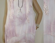 42 44 46 / 14 16 18 Italian Boutique Lagenlook TShirt Tunic Dress Scarf 2 Pc Together
