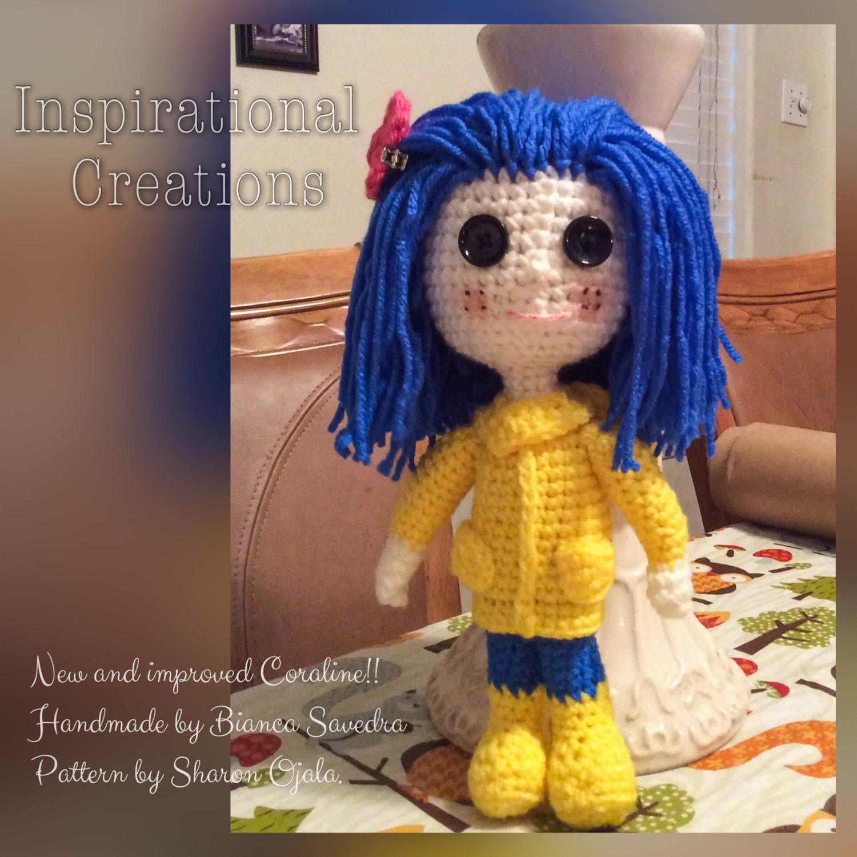 Amigurumi Wybie Doll : Amigurumi Coraline Doll Crochet Coraline Doll Amigurumi