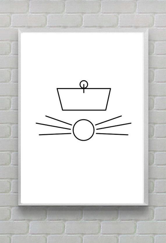 Chinese Ratatouille - Minimalist Disney Pixar movie poster, Minimalist Retro Poster,