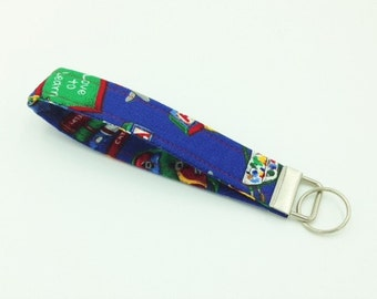 Key Fob, Key Chain, Wristlet, Teacher Key Fob - Made in Maui