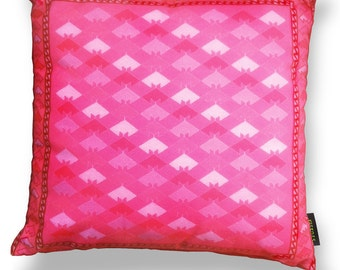Pink velvet cushion cover PINK LADY