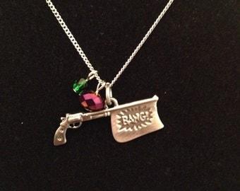 Joker's Gun Necklace