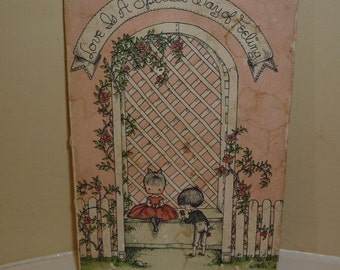 First Edition Vintage Book (1960) - Love Is a Special Way of Feeling by Joan Walsh Anglund