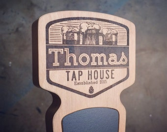 Engraved Custom Beer Tap Handle - Summit