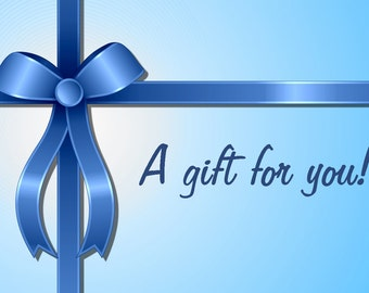 Paxton's Promise Gift Certificate - 10 - 100 available. Gift, Gift Card, Gift Certificate