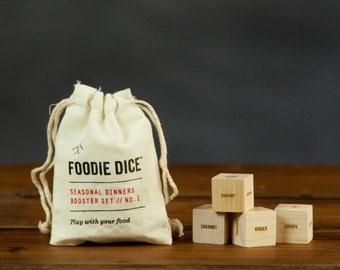 Foodie Dice® Booster set // addition to Seasonal Dinners set
