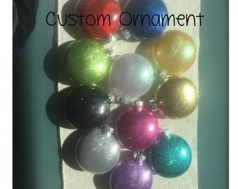 Large Custom Christmas Ornament