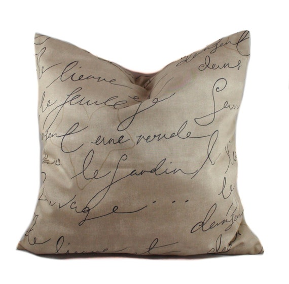 Brown Sofa Pillows: Brown Pillow Cover 14x14 Throw Pillow French Pillow