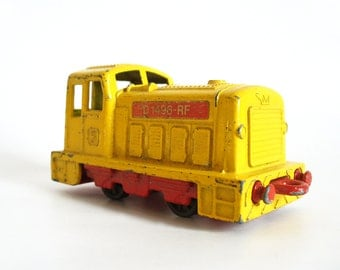 Matchbox 1970s toy train shunter, Lesney Products, made in England