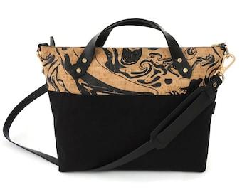 Black satchel | Etsy