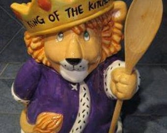 King of the Kitchen- Treasure Craft cookie jar