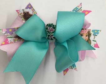 Moana hawaiian Princess Hair Bow