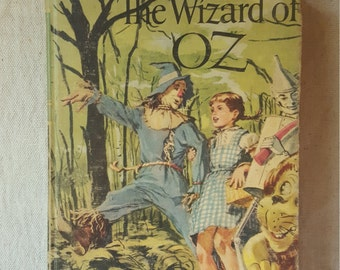 The Wizard of Oz-  Illustrated Copy