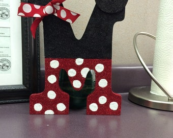 Minnie Mouse Personalized Letter