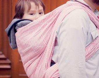 Woven Baby Wrap Sling Daiesu Tatami Rose