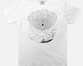 Astrological Houses tshirt- Zodiac tees - Zodiac houses - Screen Printed - Available in S to  2XL