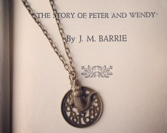 Tick Tock Croc Peter Pan Necklace