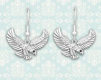 Flying Eagle Earrings - 48501