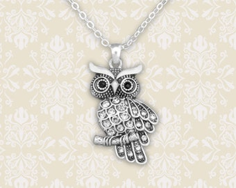 Owl Necklace - 48092