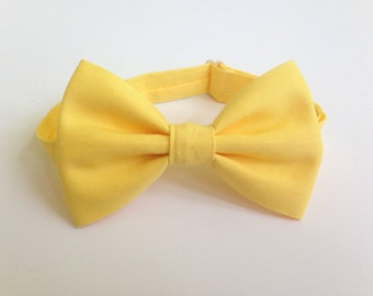 Light Yellow Bow Ties - Yellow Bow Ties - Bow Ties - Children's Bow Ties - Baby Bow Ties - Bow Tie for Baby - Bow Tie For Kids