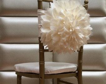 Wedding chair cover, wedding chair sash,fancy chair cover , chiavari chair cover