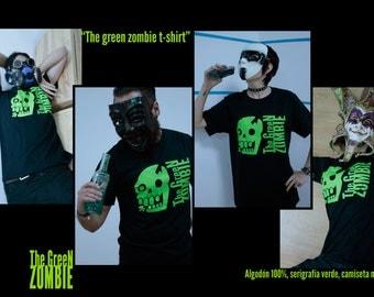 """Green Zombie"" t-shirt"