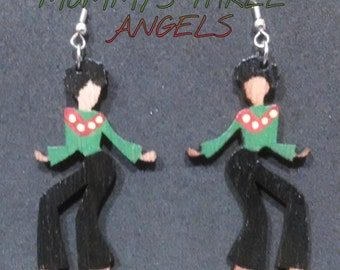 READY TO SHIP Dancing Disco Diva Earrings