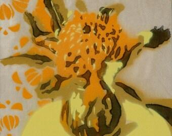 Waratah stencil 1/60