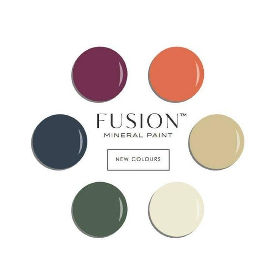 Explore Colors Gold Fusion: Fusion Mineral Paint All Colors Available SAME DAY