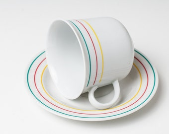 Coffee cup - Сup and saucer - Made in East Germany