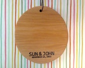 RESERVED   Custom Order: Engraved Cutting Board