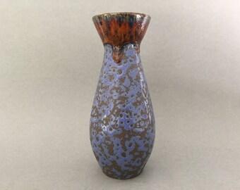 Ü-Keramik / Uebelacker 432 / 20 stylish vintage Mid Century Modern Fat Lava vase , from the 1960s / 1970s West Germany