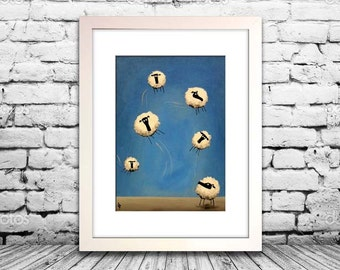 """""""If Only Ewe Can Fly"""" (Limited Edition Print)"""