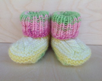 knitted baby booties| baby socks booties | baby gift